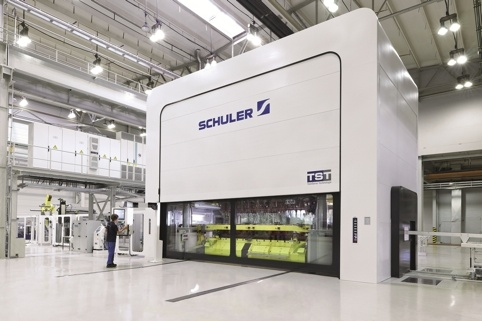 Schuler S Servodirect Technology Increases Productivity Of