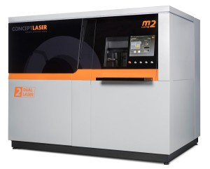 M2 cusing multilaser metal laser melting machine.