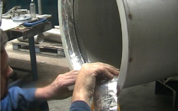 Use Backing Tape for perfect weld underbeads