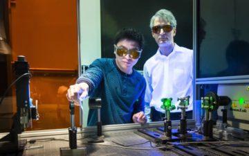 Laser process creates stronger joints between aluminum and carbon fiber