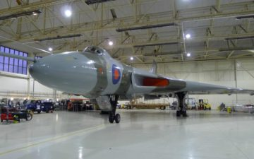Amrc organizes a virtual tour of iconic Vulcan bomber
