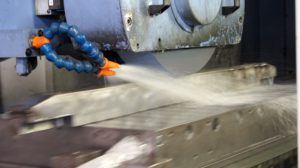 Corrosion protection can be incorporated directly into cutting fluid for the milling process.