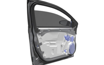 Magna demonstrates lightweighting expertise with ultralight door module