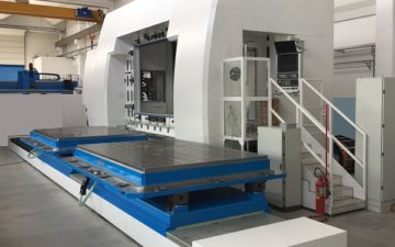Italian excellence in the production of 5 axis CNC working centers