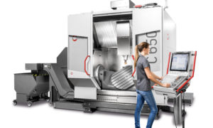 The c 650 machining centre supplements the top end of the performance line series