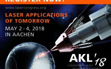 International Laser Technology Congress AKL'18