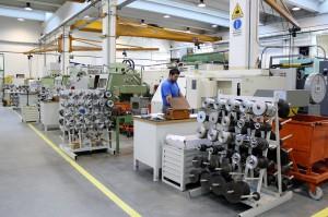 Dallan - Area produzione rulli e attrezzature