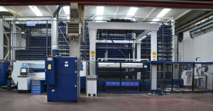Trumpf TruLaser 3530 laser cutting machine equipped with Sort Master and 166-pocket magazine