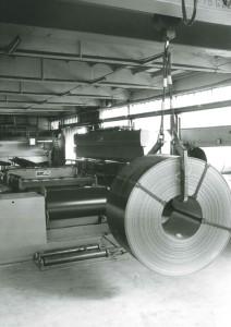 First machines supplied by Gabella Macchine to Revolti Lattonerie.