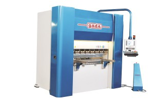 Electrical press brake with active hydraulic crowning with power unit conceived for the highest energy saving by g.a.d.e.
