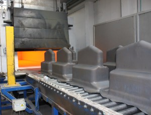 The machine fleet of Steel Form Group includes also two annealing furnaces.