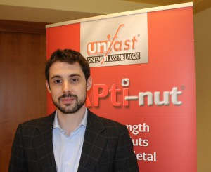 Luca Bergadano, marketing and sales manager of Unifast at Settimo Torinese (Turin).