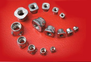 KAPti-nut, system of inserts and studs patented by Unifast.