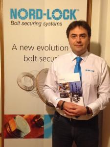 Luca Gheddo, general manager of Nord-Lock Srl.