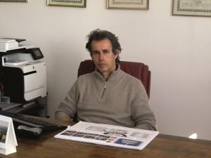 Luca Morini, owner of Fonderia Morini