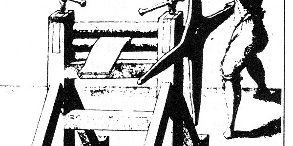 Fig_3 – Mill built by Solomon Caus to roll sheets of lead