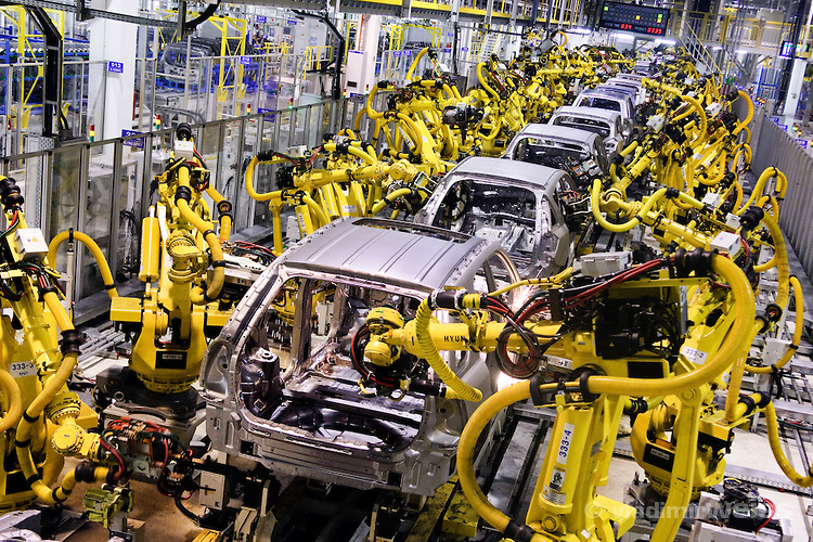 Kia Motor S First Assembly Plant In Mexico Metal Working