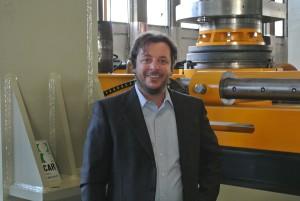 Federico Boracchi, general manager of Imcar at Concorezzo (MB)