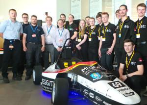 SFR car launch at AMRC