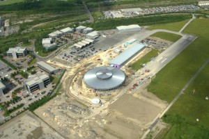 Factory 2050 under construction in June 2015
