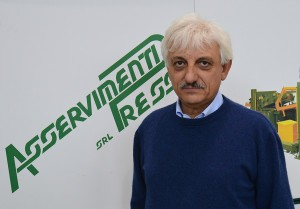 Mr Ottavio Albini, owner of Asservimenti Presse at Massalengo (LO)