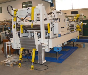 Line with 200 mm width and thickness from 6 to 12 mm