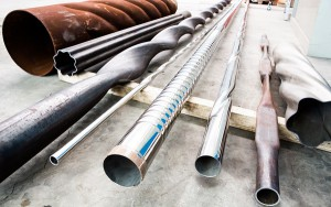 Mas-1 technology allows implementing endless deformations on pipes and sheet metals with thicknesses up to 10 mm and maximum diameters of 500 mm, with countless application possibilities