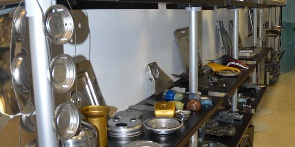 Broad range of products manufactured by Euromeccanica in various stainless steels and steels