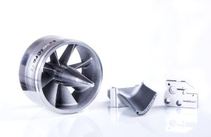 C 1 Components produced using additive manufacturing with high-performance metals