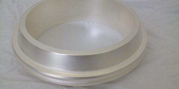 Fig_02: Silver-plating treatment of titanium junction ring for high-pressure submarine pipelines.