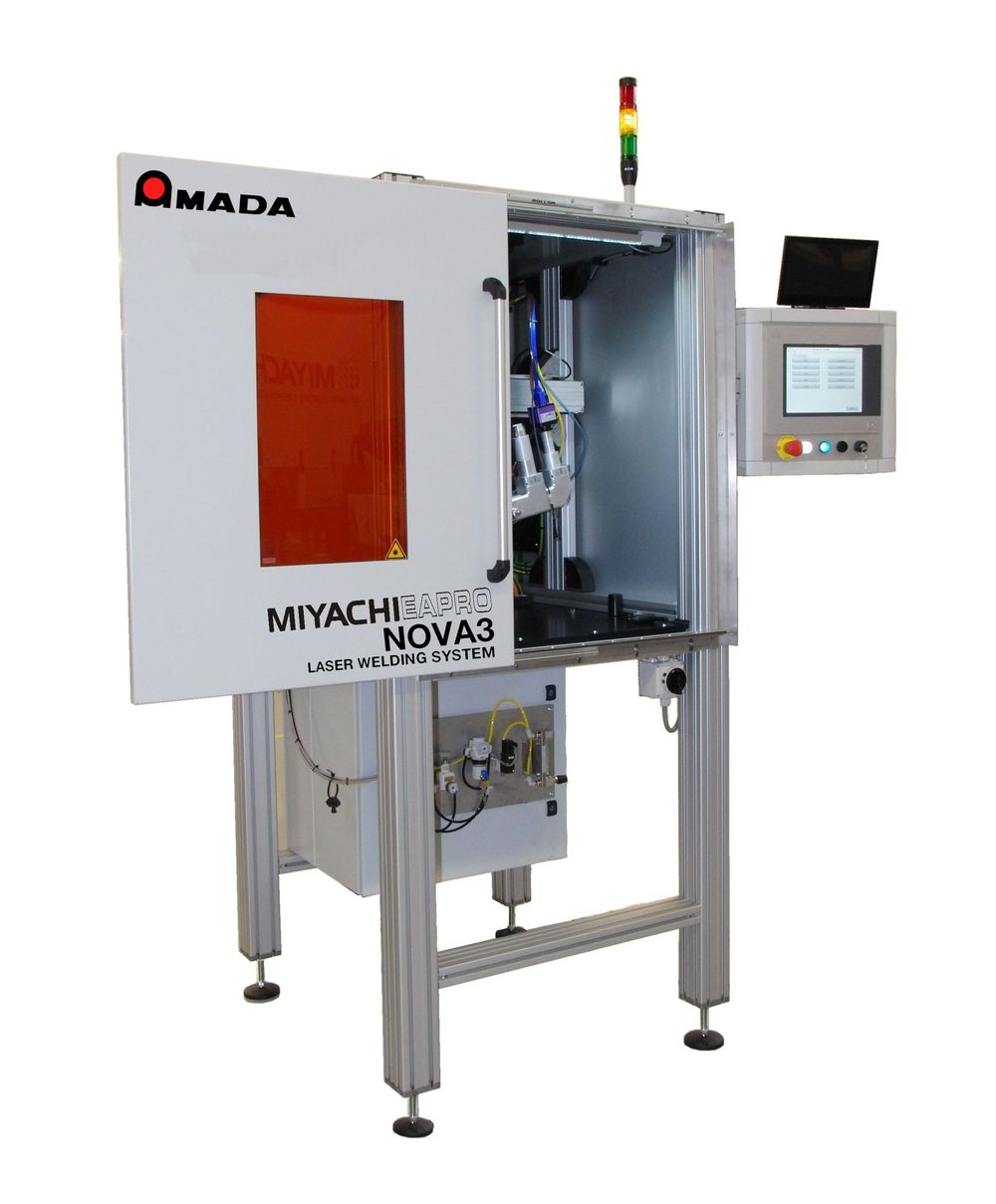 AMADA MIYACHI EUROPE offers a new Laser Welding Workstations
