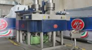 Soon delivered to Tromba Maurizio, the AR 200 profile bender has been manufactured by MG in special version.