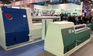 K series a new model of sheet plate bending machine at Euroblech