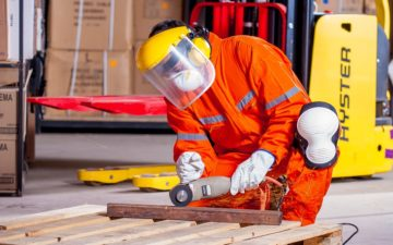 Protection and safety at work are important but time is little