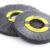 Abrasive nylon wheel brushes provide deburring for extremely hard metal parts